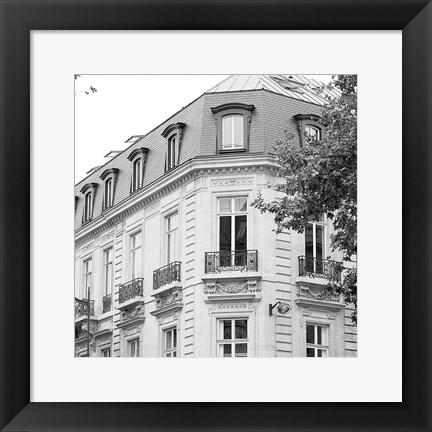 Framed Travers Paris II Print