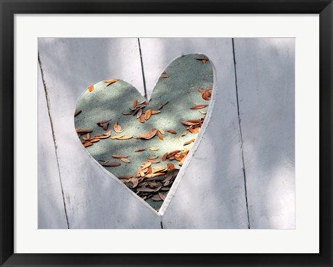 Framed Heart Full of Love Print