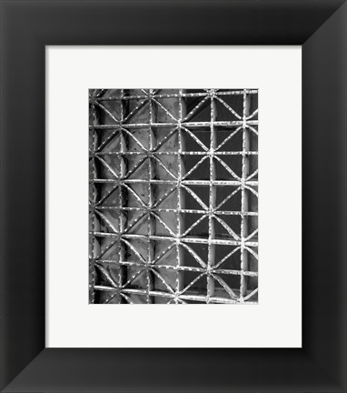 Framed Ground Beneath I Print