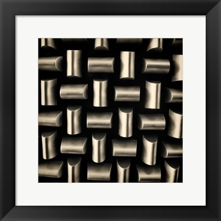 Framed Industrial Square II Print