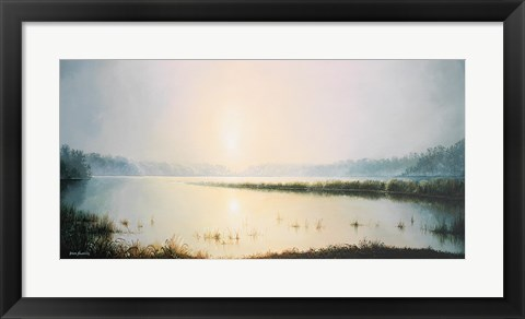 Framed Early to Rise Print