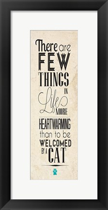 Framed Cat Type Print