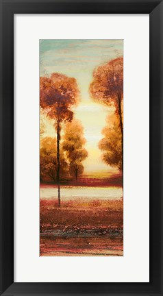 Framed Vibrant Land I Print