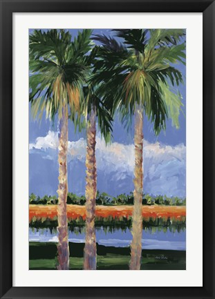 Framed Palm Coast Print