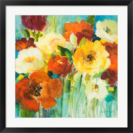 Framed Flower Power II Print