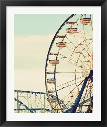 Framed Retro Ferris Print