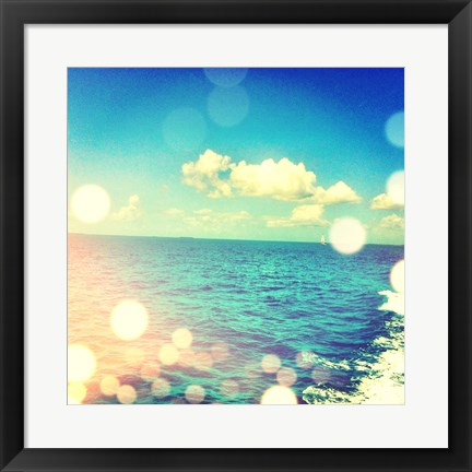 Framed Ocean Breeze I Print