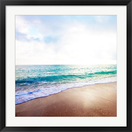 Framed Golden Sands II Print
