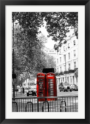 Framed Telephone Print