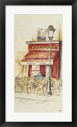 Framed Cafe Du Paris Panel I Print