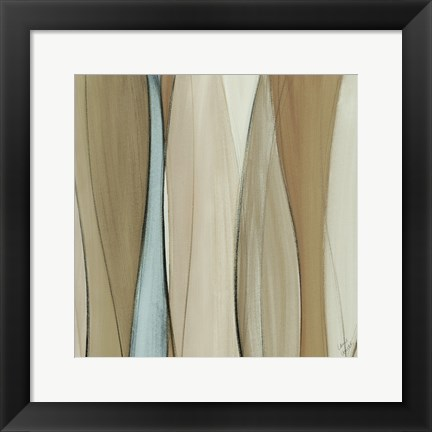Framed Neutral Coalescence Square II Print