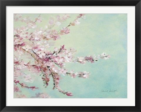 Framed Sakura Fragile Beauty Print