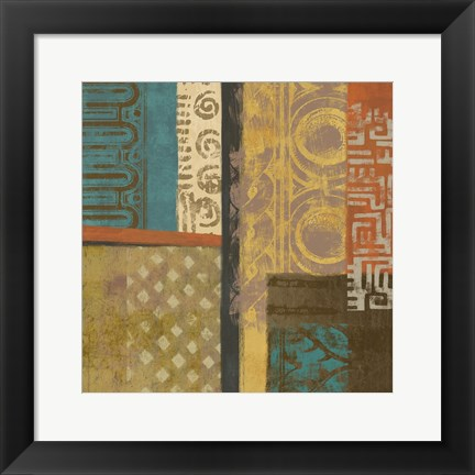 Framed African Tribe 1 Print