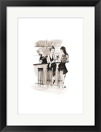 Framed Entertain illo 2 Print