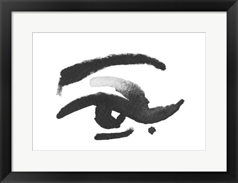 Framed Inked Eye Print
