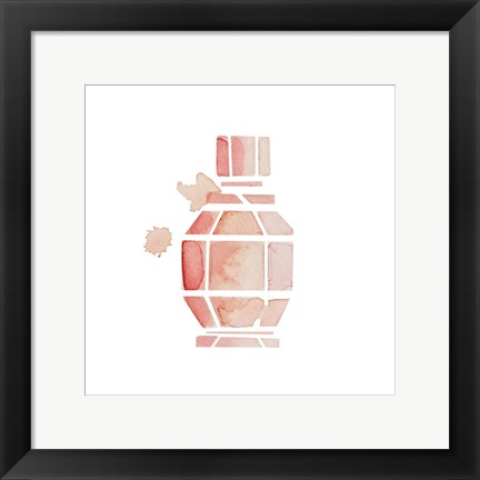 Framed Beautiful Scents 4 Print