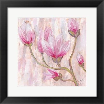 Framed Tulip Tree 1 Print