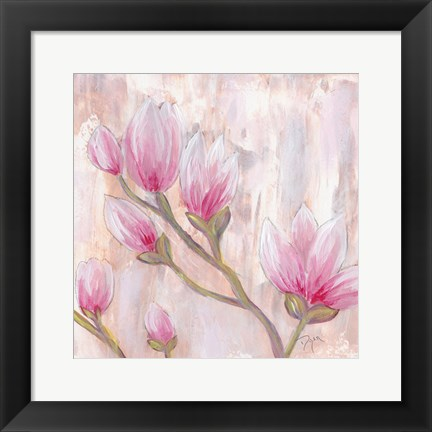 Framed Tulip Tree 2 Print