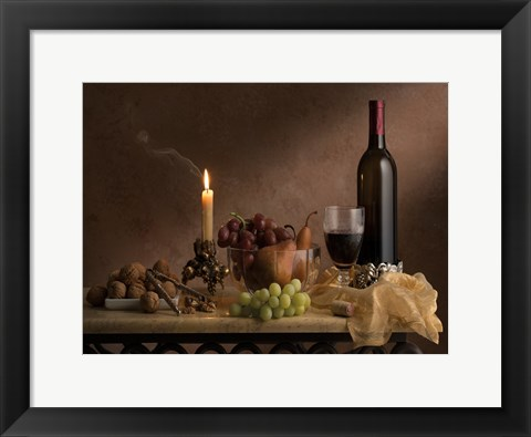 Framed Old Master Still Life Print