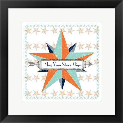 Framed May Your Stars Align Print