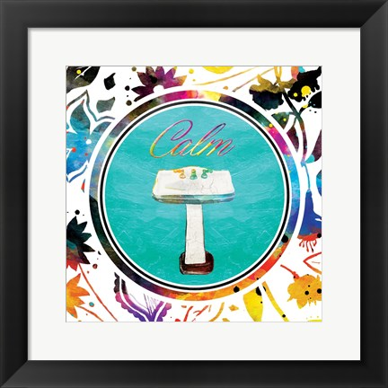 Framed Colorful Calmness Print