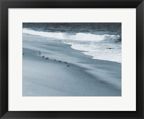 Framed West Coastal Shore Print