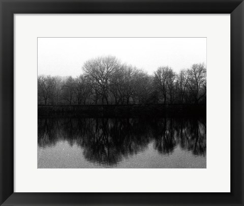 Framed Central Park As Above So Below Print