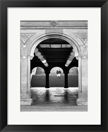 Framed Central Park Diptych B Print