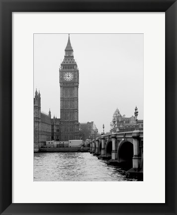 Framed London Big Ben Print