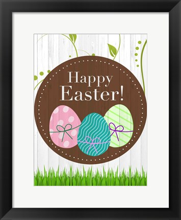 Framed Happy Easter Print