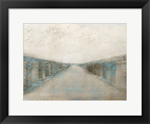 Framed At The Pier Print