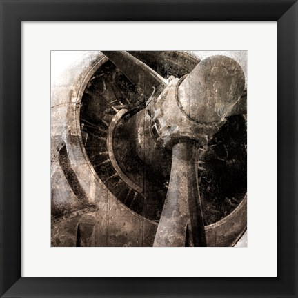 Framed Tarnished Aircraft Print