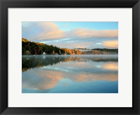 Framed Reflections of Summer-2 Print