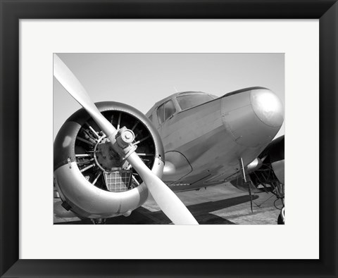 Framed Ready For Take Off Print