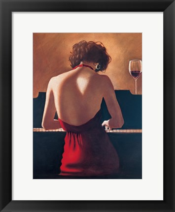 Framed Sophisticated Lady Print