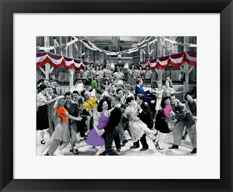 Framed Dance Party Print