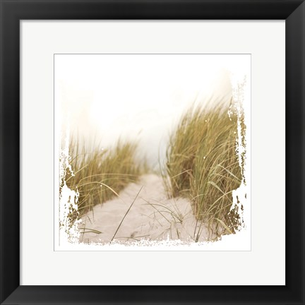 Framed Beach Entry Print