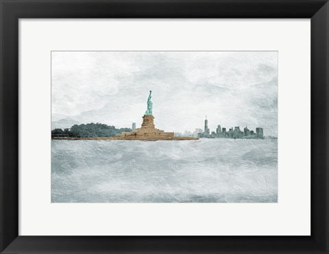 Framed New York State Of Mind Print
