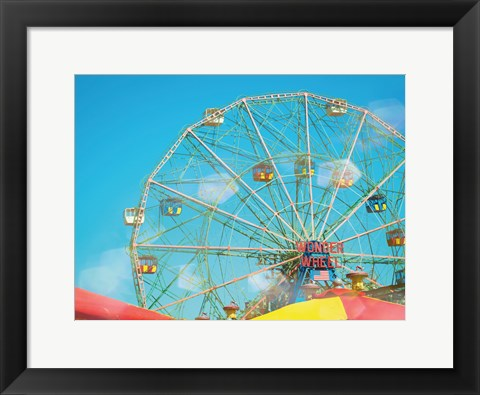 Framed Coney Island Afternoon Print