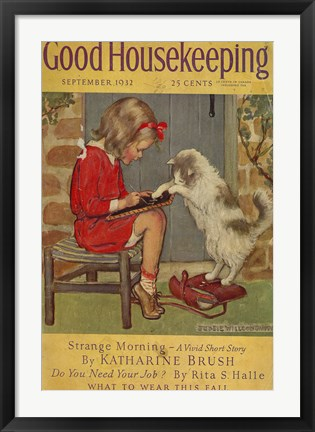 Framed Good Housekeeping VI Print