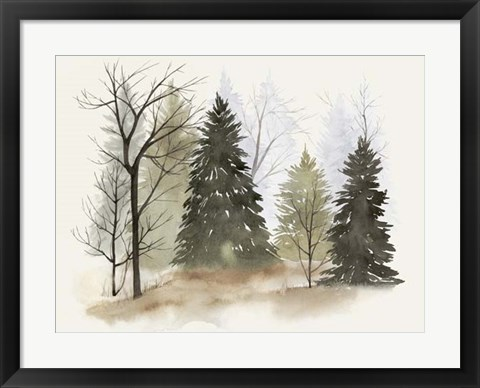 Framed In the Mist II Print