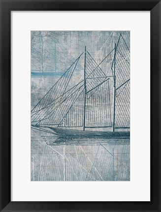 Framed Danielas Sailboat III Print