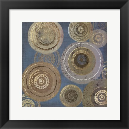 Framed Aboriginal Dot I Print