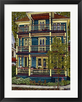 Framed Bayberry House Print