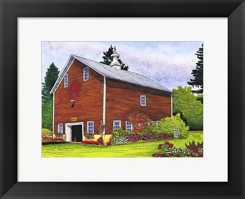 Framed Remsen - The Old Barn Print