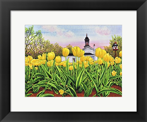 Framed Hear The Bells Print