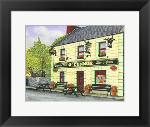 Framed Ireland - O'Connor's Pub Print