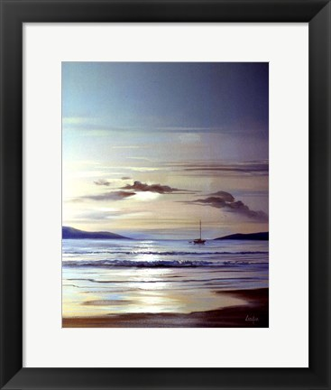 Framed Calm Waters Print