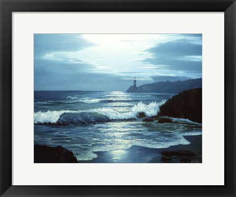 Framed Lighthouse 10 Print
