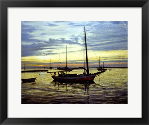 Framed Anchored Print